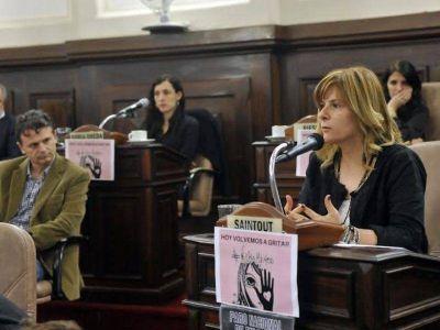 El Concejo respaldó el paro nacional de mujeres contra la violencia de género