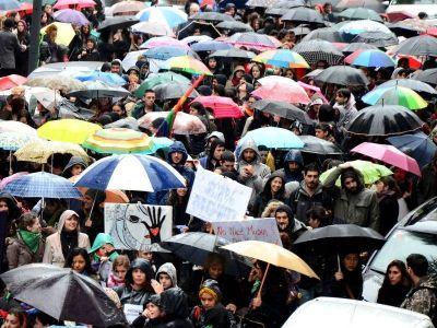 Más de 13 mil mujeres marcharon en La Plata para exigir nuevamente #NiUnaMenos