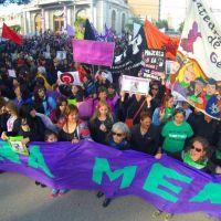 #NiUnaMenos: multitudinaria movilizaci�n en las distintas ciudades de la provincia