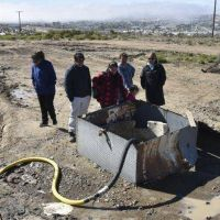 Habitantes de un barrio de Caleta bloquearon el cargadero de agua