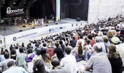 Rock gratis y al aire libre en Conectar 2016