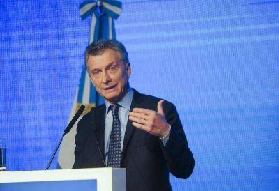 Macri pidi� a los empresarios �romperse el traste� para que el pa�s crezca