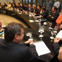 Los intendentes firmaron el acuerdo y no habr� juicio contra la Provincia
