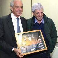 Intendente Andreotti recibi� a Juan Carr y a Rodolfo D�Onofrio