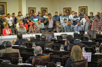 La crisis del Parque Industrial se coló en la sesión legislativa