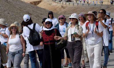 Miles de mujeres marcharon para exigir acuerdo de paz entre Israel y Palestina