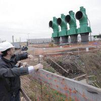 Cavan los pozos donde funcionar� la Estaci�n de Bombeo de Lomas