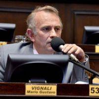 Vignali present� un proyecto de ley para pensionados por invalidez
