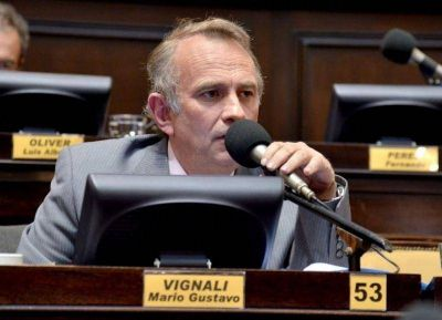 Vignali presentó un proyecto de ley para pensionados por invalidez