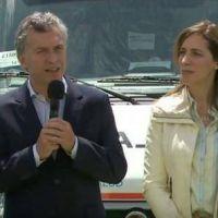 Mauricio Macri, Mar�a Eugenia Vidal y otra foto juntos: la segunda de la semana
