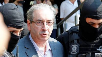 Reuni�n de emergencia de Temer con su equipo tras el arresto de Cunha