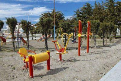 Previo a la llegada del verano, en Rada Tilly inaugurarán dos nuevas estaciones saludables