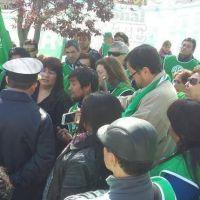ATE protest� en Allen y no hubo sesi�n del Concejo Deliberante