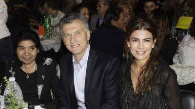 Mauricio Macri y Juliana Awada participaron de la cena anual de la fundación Margarita Barrientos
