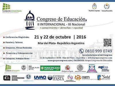 Denuncian estafa con un congreso de educación anunciado en la ciudad