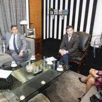 Urtubey se reuni� con autoridades de la Federaci�n Argentina de Cardiolog�a