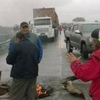 Dos cortes sobre la vieja traza de la ruta 38 en Concepci�n y en R�o Chico