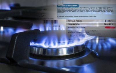 Un 30% de los hogares salteños tiene tarifa social de gas