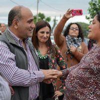Vecinos del Barrio Vicente L�pez y Planes reconocen un Estado presente
