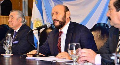 La FEF se solidarizó con el gobernador de la provincia