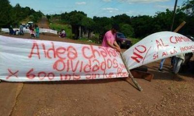 Integrantes de la aldea Chafariz traerán su reclamo de energía eléctrica y viviendas a Posadas