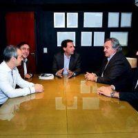 Sujarchuk se reuni� con De la Torre, Curutchet y empresas telef�nicas