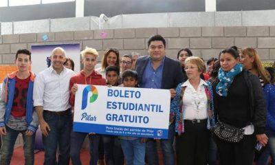 A partir del lunes comenzará a regir el boleto estudiantil gratuito en Pilar