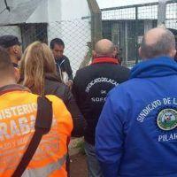 Denuncian graves irregularidades en el ex Frigor�fico El Ranquelino