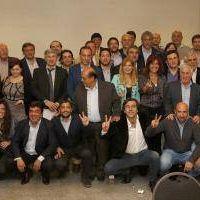 Reuni�n de intendentes del PJ Bonaerense en Lobos