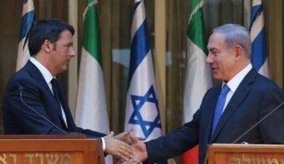 "Matteo Renzi a Netanyahu: ""La resolución de la Unesco es inaceptable"""