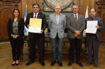 El CIRA recibió una distinción de la ciudad de Buenos Aires