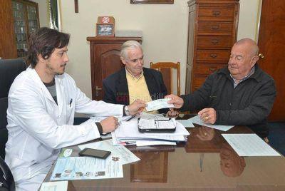 El Hospital Posadas recibió un subsidio de 20 mil pesos
