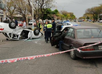 Registran un promedio de 14 accidentes de tránsito por día