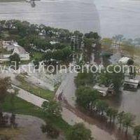 Inundaci�n en General Villegas: M�s del 50 por ciento del distrito est� bajo agua
