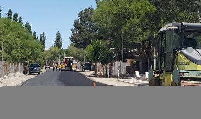 Santa María: retoman trabajos de repavimentación en ruta provincial Nº 39