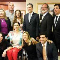 Claudia Zamora con el Banco de Desarrollo de Am�rica Latina