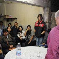 El Intendente Infante anunci� obras de cloacas para un sector del barrio Parque