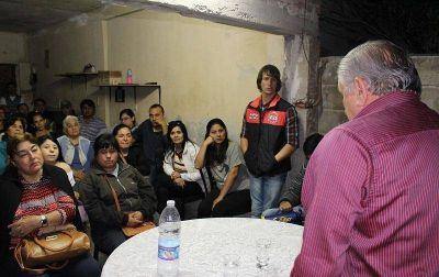 El Intendente Infante anunció obras de cloacas para un sector del barrio Parque