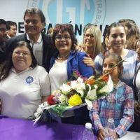 Ratifican a Graciela Aranda como l�der de la CGT Chaco