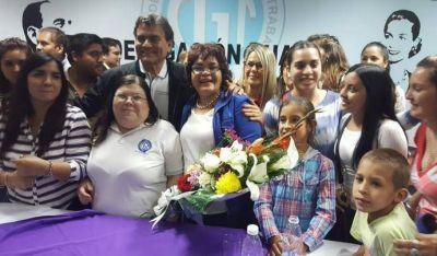 Ratifican a Graciela Aranda como líder de la CGT Chaco