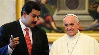 El papa Francisco recibi� a Nicol�s Maduro en el Vaticano