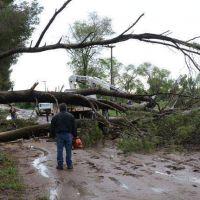 Cayeron 63 mm. y sigue el alerta para toda La Pampa