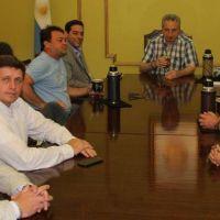 Passalacqua recibi� planteos de legisladores opositores y dirigentes
