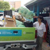 Cooperativa recibir� m�quinas para aumentar su capacidad de reciclar residuos urbanos