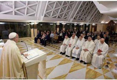 Papa: los r�gidos no conocen la libertad de los hijos de Dios