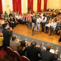 Con asistencia plena, se puso en marcha el Consejo Econ�mico y Social