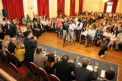 Con asistencia plena, se puso en marcha el Consejo Económico y Social