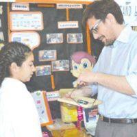 El Ministro de Educaci�n elogi� trabajos de la Feria de Ciencias