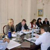 Reuni�n de la Secretar�a de Seguridad de Brown con concejales