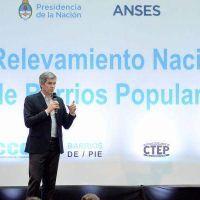 Se present� el Programa de Relevamiento Nacional de Barrios Populares